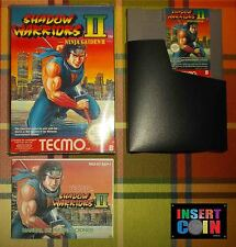 JUEGO NINTENDO NES SHADOW WARRIORS II  PAL B ESP   NES