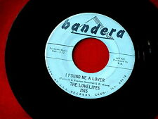 LOVELITES~I FOUND ME A LOVER~YOU BETTER STOP IT~BANDERA~2515~ NORTHERN SOUL 45