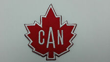 1 pc - SEW-ON SMALL CANADIAN MAPLE LEAF EMBRO. PATCH 2-3/4X2-7/8""