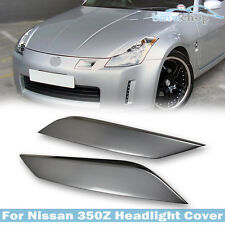 Painted #KYO For Nissan Z33 350Z Fairlady Z 2D Headlight Cover Eyelid 08