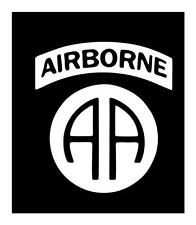 82nd Airborne 7x6 Army Military Paratrooper VINYL CAR TRUCK WINDOW DECAL STICKER