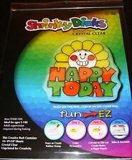 Shrinky Dinks Crystal Clear Shrink