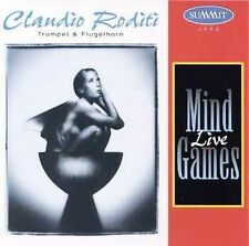 FREE US SHIP. on ANY 2 CDs! NEW CD Claudio Roditi: Mind Games Live Live