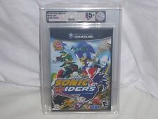 NEW Sonic Riders Nintendo GameCube Game SEALED Graded VGA 85+ NM+ GOLD racers US
