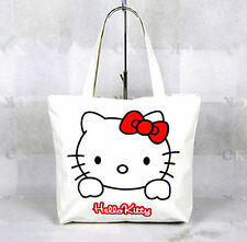 New Hellokitty Canvas Bag Shopping / Tote Bag Purse aa1288a4