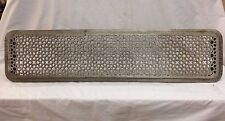 Antique Cast Iron Hot Water Steam Radiator Cover Plant Stand Garden Vtg 2277-16