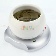Portable USB Powered Cup Mug Warmer Coffee Tea Heater Tray Pad Mat