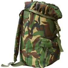 KIDS MILITARY CADET 15L RUCKSACK CAMO BOYS BRITISH ARMY DAYSACK CAMPING SCOUTS