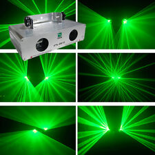 2 Lens 50mW Green +50mW Green  DMX Laser Light Disco DJ  Stage Party Lighting