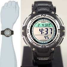 Casio SGW-100 Twin Sensor COMPASS Watch Thermometer World Time Backlight New