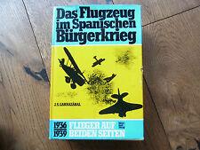 Original Buch Das Flugzeug im spanischen Bürgerkrieg-Luftwaffe