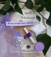 Mend  Broken Heart  Spell Kit  Votive Candle  Magic Wicca Created by a Witch