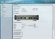 Cisco 1000Mbps RVS4000 4-Port Gigabit Security Wired Router with VPN Linksys