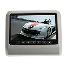 "2016 DUAL 9"" DIGITAL HEADREST LCD CAR MONITOR DVD AV PLAYER USB SD"