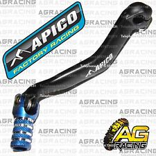Apico Black Blue Gear Pedal Lever Shifter For Yamaha YZ 125 2007 Motocross New