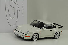 1993 Porsche 911 964  Turbo 3.6 white weiss 1:18 GT Spirit ZM070