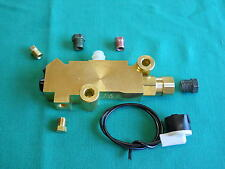 disc/drum PROPORTIONING VALVE-COMBINATION VALVE w/Fittings,Cars,Trucks,Hot Rod