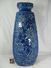 """Very rare 70´s """"Sputnik"""" design Scheurich pottery Keramik floor vase 263 - 52"""