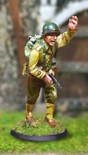 THE COLLECTORS SHOWCASE WW2 AMERICAN CBA043 101ST AIRBORNE CAPT. JOHN STEEL MIP