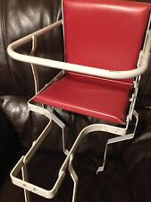 Vintage BICYCLE Bike Infant Child Child's  Childrens Rear Seat Metal Frame