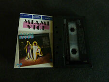 MIAMI VICE RARE OZ SOUNDTRACK CASSETTE TAPE! X THE DAMNED ROXY MUSIC JAN HAMMER