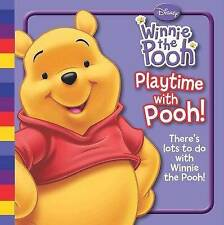 """Disney """"Winnie the Pooh"""": Playtime with Pooh, , New Book"""