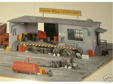 HO SCALE TRAINS GROWELL FERTILIZER SUPPLY OFFICE AND SHED BUILDING KIT