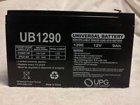 UB1290 F2 Sealed Lead Acid Battery Security Alarm SLA