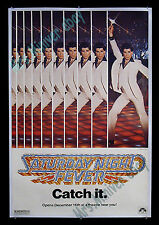 SATURDAY NIGHT FEVER! RARE 1977 NYC ADVANCE 1-SHEET! Museum/Investment QUALITY!!