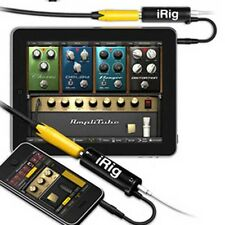 New iRig Guitar Interface Converter iRig guitar tuners For iPhone / iPad / iPod