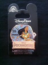 DISNEY PIN LE 2000 POCAHONTAS 20TH ANNIVERSARY