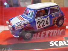 SCALEXTRIC A10193S300 MINI COOPER MONTECARLO    1/32 NEW