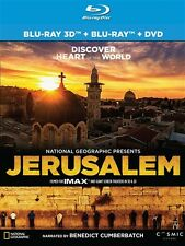 JERUSALEM IMAX New Sealed Blu-ray 3D + Blu-ray + DVD