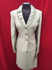 "KASPER SKIRT SUIT/RETAIL$240/SIZE 16/FULLY LINED/SKIRT LENGTH 25""/GOLDEN HONEY"