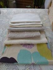 PATCHWOR lot bande tissus ameublement,les beiges= a saisir!!!!!