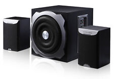 New F&D A521 2.1 Multimedia Speaker 5000W PMPO Extra Large Subwoofer With USB/SD