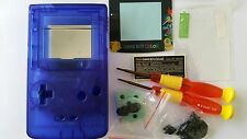 ES- PHONECASEONLINE CARCASA GAMEBOY COLOR POKEMON CLEAR BLUE NUEVA