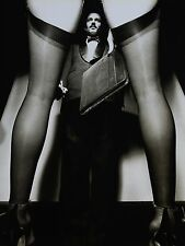 Guy Bourdin Offset Lithograph Photo 27x36cm French Vogue 1979 Nude Legs B&W Dior