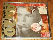 DAVID BOWIE RARE Gold CD AU20 CHANGES BOWIE STILL SEALED  1990