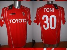 Fiorentina BNWT Xl Luca Toni Toyota Lotto Camisa Camiseta Fútbol Maglia Italia Nuevo