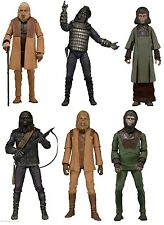 Classic Planet of the Apes Figures Set of Series 1 & 2 NECA 6 Figures