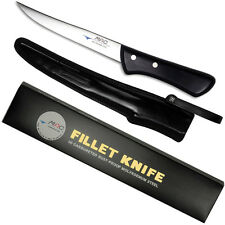 "MAC BNS-60 - Chef Series 6"" Boning Fillet Knife Curved/Silver Molybdenum steel"