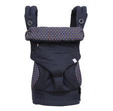 Ergo Four Position 360 Baby Carrier  Dusty Backpack Spot Blue with box