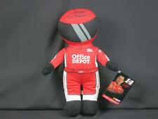 BIG NEW RED NASCAR RACING SUIT TONY STEWART OFFICE DEPOT TOY FACTORY PLUSH DOLL