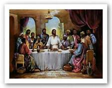 AFRICAN AMERICAN ART PRINT The Last Supper Quintana