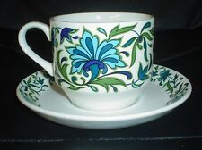 Midwinter Staffordshire SPANISH GARDEN By Jessie Tait Teacup And Saucer
