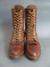 DD Tuff  Vintage Mens Smoke Jumper Packer Lineman Work Boot,  10.5 D USA  Union