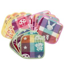 Pack of 12 KaWaii Baby Muslin Cotton Cloth Wipes Canadian Seller
