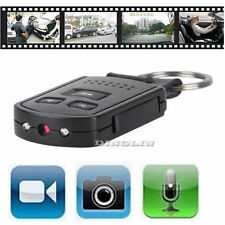 HD 1080P Metal Car Key Chain Mini Hidden SPY Camera DVR Motion Detection IR Cam