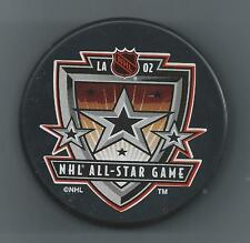 2002  NHL All-Star Game  Los Angeles CA  Souvenir Hockey Puck